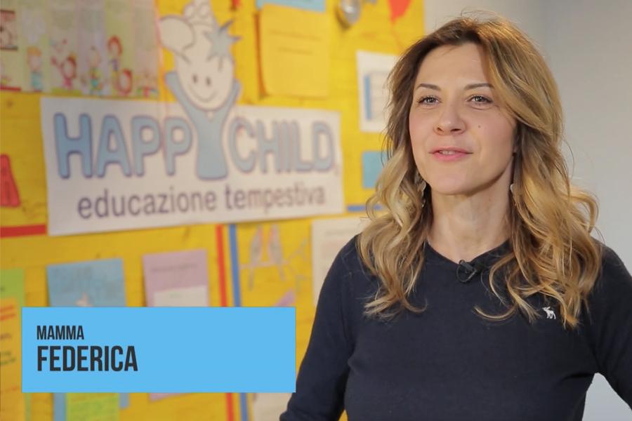Federica - Testimonianza scuola Bilingui Happy Child